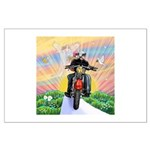 Guardian Blessing 2 Riders Large Poster