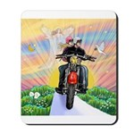 Guardian Blessing 2 Riders Mousepad