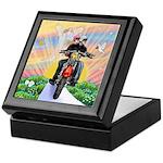 Guardian Blessing 2 Riders Keepsake Box