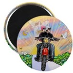 Guardian Blessing 2 Riders Magnet