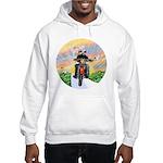 Guardian Blessing 2 Riders Hooded Sweatshirt