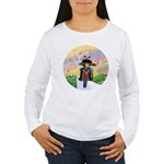 Guardian Blessing 2 Riders Women's Long Sleeve T-S