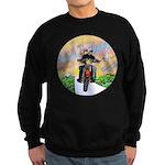 Guardian Blessing 2 Riders Sweatshirt (dark)