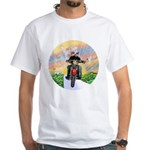 Guardian Blessing 2 Riders White T-Shirt