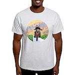 Guardian Blessing 2 Riders Light T-Shirt