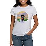 Guardian Blessing 2 Riders Women's T-Shirt