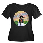 Guardian Blessing 2 Riders Women's Plus Size Scoop