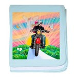 Guardian Blessing 2 Riders baby blanket