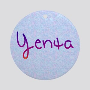 Yenta Ornament (Round)