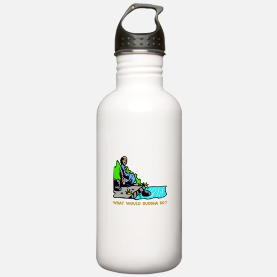 What Would Buddha Do? Gifts Water Bottle