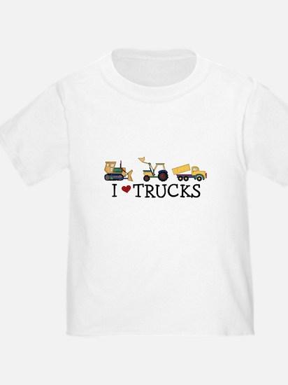 I Love Trucks T