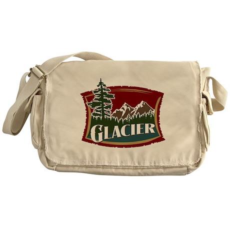 Glacier Mountains Messenger Bag