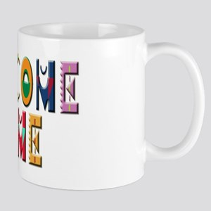Welcome Home in color Mug