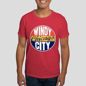 Chicago Vintage Label Dark T-Shirt