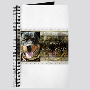 New Year - Golden Elegance - Rottie Journal