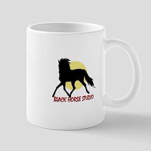 BLACK HORSE STUDIO LOGO Mug
