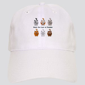 Crazy Cat Lady In Training Cap