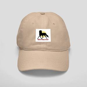 BLACK HORSE STUDIO LOGO KHAKI CAP!