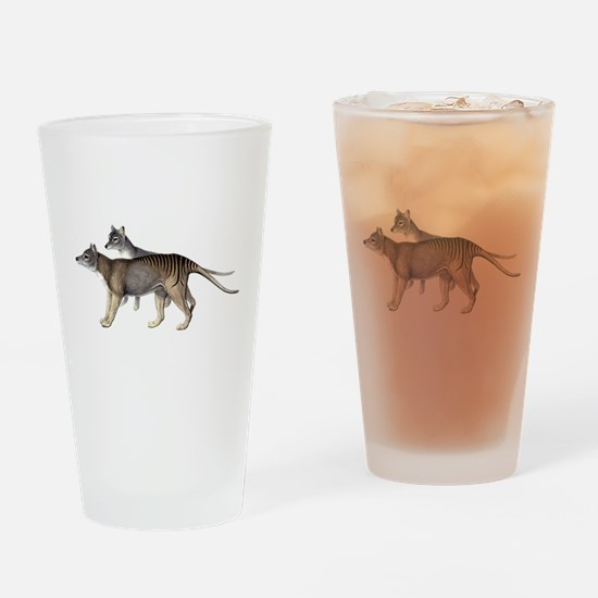 Thylacine Drinking Glass