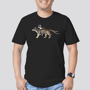 Thylacine Men's Fitted T-Shirt (dark)