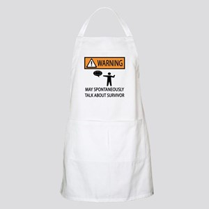 Spontaneously Talk Survivor Apron