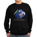 9-11 We Have Not Forgotten Sweatshirt (dark)