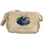 9-11 We Have Not Forgotten Messenger Bag