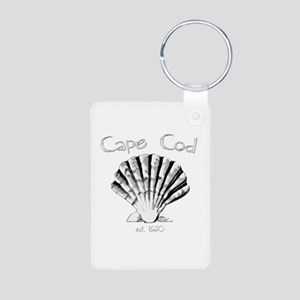 Cape Cod Est.1620 Aluminum Photo Keychain