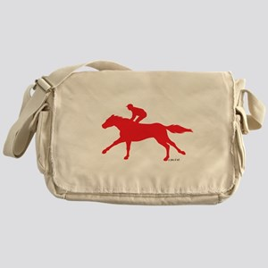 Horse Racing (3) Messenger Bag