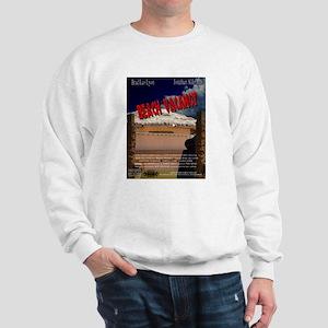 Beach Vacancy Poster Sweatshirt