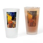 Cafe - Airedale (S) Drinking Glass