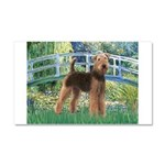 Bridge - Airedale #6 Car Magnet 20 x 12