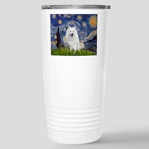 Starry-Am. Eskimo Dog Stainless Steel Travel Mug