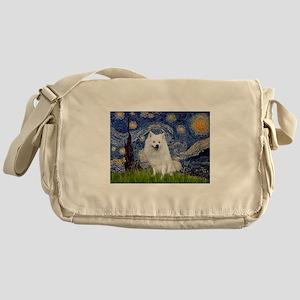 Starry-Am. Eskimo Dog Messenger Bag