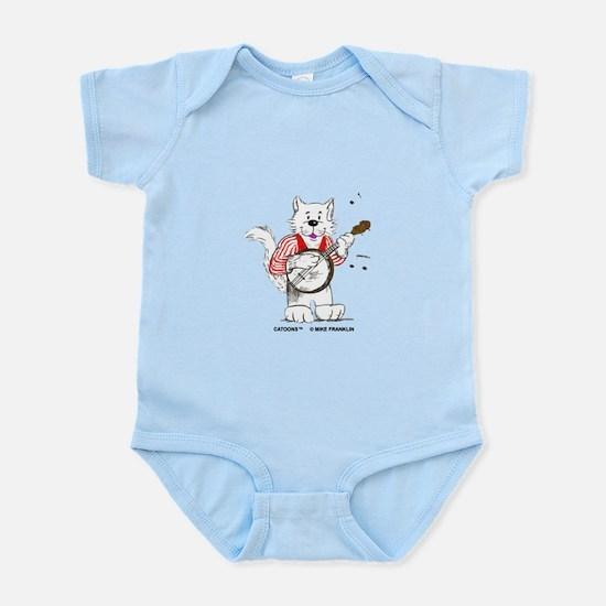 Banjo Cat Infant Bodysuit