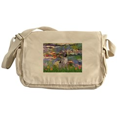 Lilies2-Am.Hairless T Messenger Bag
