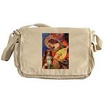 Angel3 - Aussie Shep #4 Messenger Bag