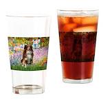 Garden-Aussie (#4) Drinking Glass