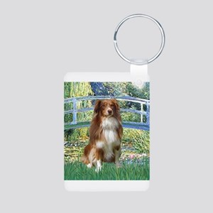 Bridge-Aussie Shep #4 Aluminum Photo Keychain