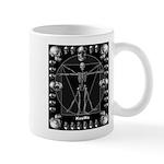 Leonardo da skull Mug