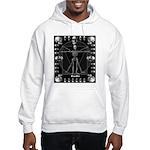 Leonardo da skull Hooded Sweatshirt