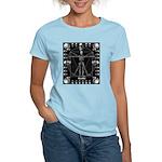 Leonardo da skull Women's Light T-Shirt