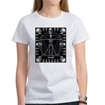 Leonardo da skull Women's T-Shirt
