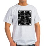Leonardo da skull Light T-Shirt