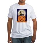 Trick or Treat Halloween Fitted T-Shirt