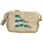 Counting in Tagalog Messenger Bag