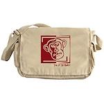 Year of the Monkey Messenger Bag