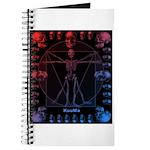 Leonardo da skull 2 Journal