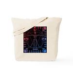 Leonardo da skull 2 Tote Bag