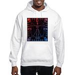 Leonardo da skull 2 Hooded Sweatshirt